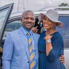 Founder/CEO Of Chinmark Group, Dr Marksman Chinedu Ijiomah  and his wife